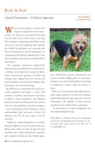 Urban Paws Oct 2011 pet chiro page_14_