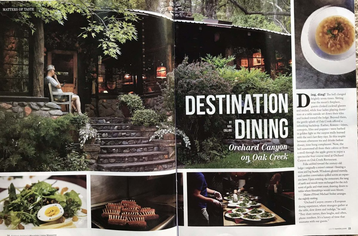 Destination Dining